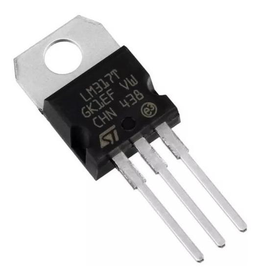 5 X Regulador De Tensão Lm317 Lm317t Eletronica