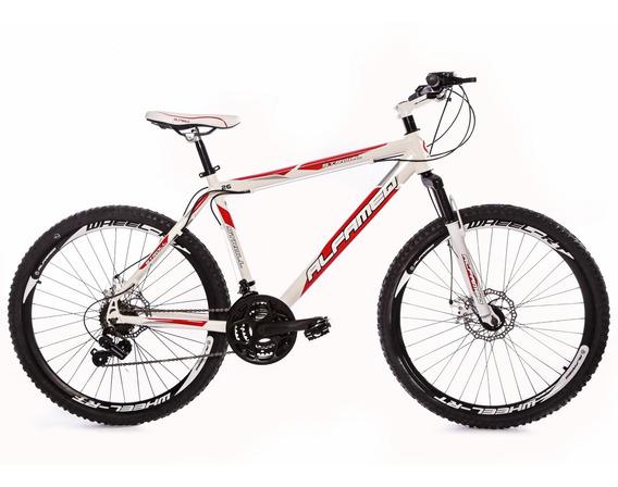 Bicicleta Alfameq Stroll Feminina Rosa Aro 26 F Disco 21v