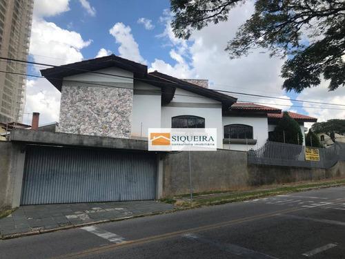 Casa Com 3 Dormitórios Para Alugar, 450 M² Por R$ 9.000,00/mês - Parque Campolim - Sorocaba/sp - Ca1578