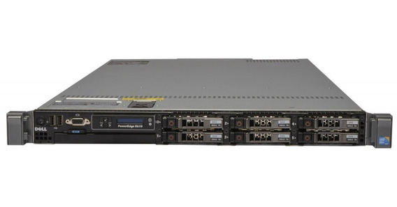 Servidor Dell Poweredge R610 2 Xeon Sixcore 2 Sas 300g 32gb