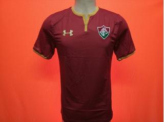 Camisa Fluminense 2017 Oficial Under Armour Vinho S/n