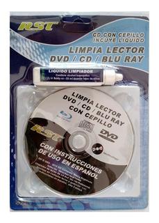 Kit Limpieza De Lector Cd, Dvd Y Blue Ray Oferta