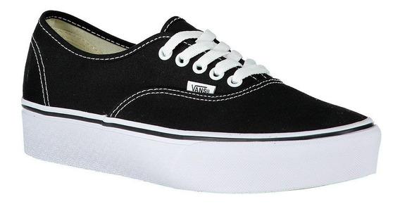 vans negras zapatillas mujer