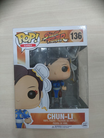 Pop Funko - Chun-li - Street Fighter - Novo!
