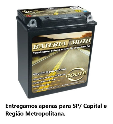 Bateria De Moto 12ah- Cb 400/450 - Ytx14a Bs