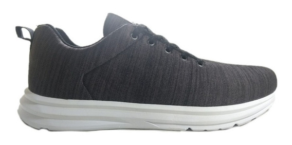 Zapatillas Rave Hombre/mujer Crossfit Fitness Gris N°34/45
