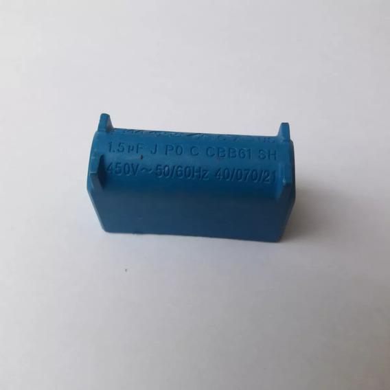 Capacitor Ar Condicionado 1.5uf X 450 V Azul Ar Diversos