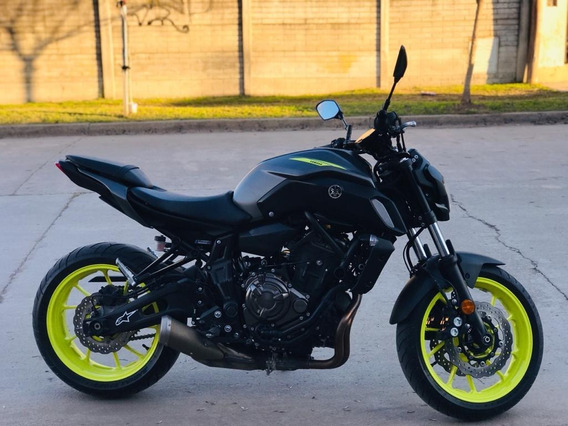 Yamaha Mt07 Naked