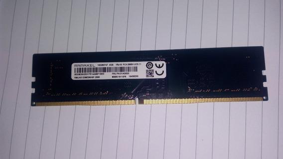 Memoria Ram 4gb Ramaxel Ddr4 Pc4-2666