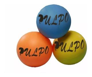 Pelota Pulpo De Goma Original 14 Cm