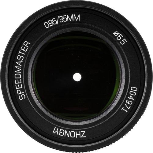 Lente 35mm 0.95 Mitakon Zhongyi Speedmaster Markii Para Fuji