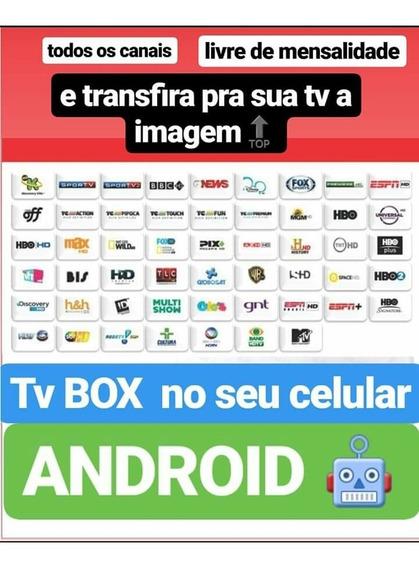 Tv Box Em Seu Smartphone