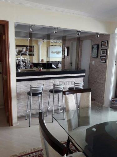 Apartamento, Vila Bastos, Todo Reformado, Localização Privilegiada, Venha Fazer Sua Visita!!! - Ap4723