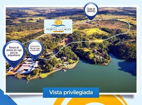 Imagem 1 de 15 de Lançamento Loteamento Portal Do Lago Em Caldas Novas Goiás - Lote A Venda No Bairro Residencial Portal Do Lago - Caldas Novas, Go - Portal-do-lago-parcelados