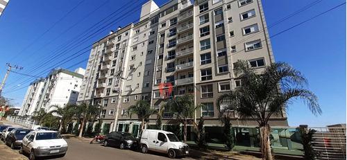 Apartamento Com 2 Dormitórios À Venda, 62 M² Por R$ 266.000 - Vila Monte Carlo - Cachoeirinha/rs - Ap0702