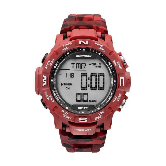 Relógio Mormaii Masculino Ref: Mo1173a/8r Digital Camuflagem