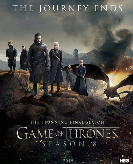 Dvd Game Of Thrones - 8 Temporada Completa - Dublado E Legen