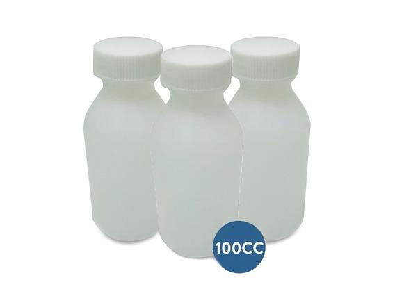 Pack 100u Frasquitos De Plástico De 100 Cc (diversos Usos)