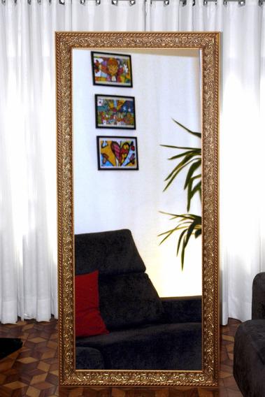 Moldura Espelho De Chão Grande 0,70 X 1,70