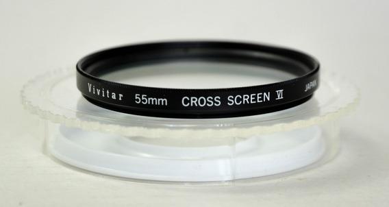 Filtro Vivitar Cross Screen 6 55mm