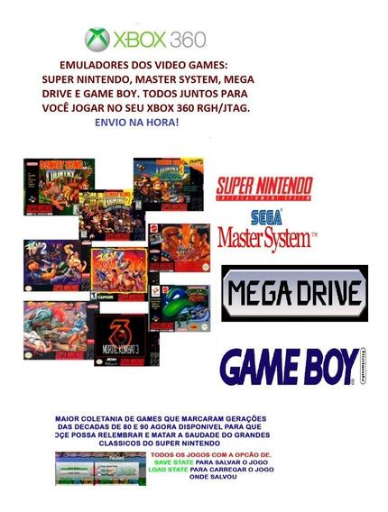 Emulador Super Nintendo, Mastersystem, Megadrive, Gameboy