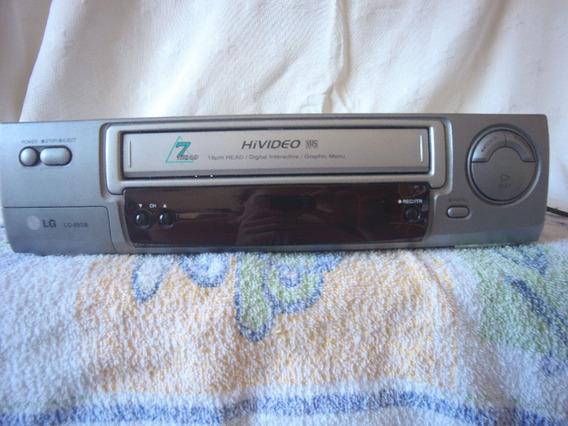 Video Cassete Vhs Lg 89sb (leia Descrição)