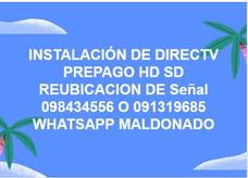 Instalador Directv Prepago Hd Y Sd
