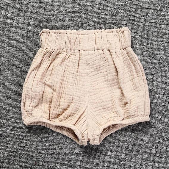 Roupa Bebê Shorts Criança Algodão Fashion Verão
