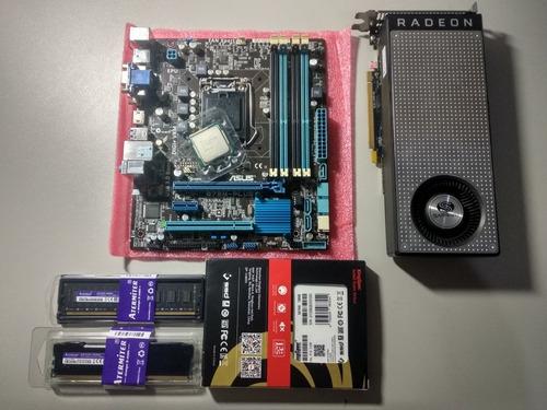 Kit Intel I5 3570/ 16gb/ Rx 470oc/ 128gb Ssd.