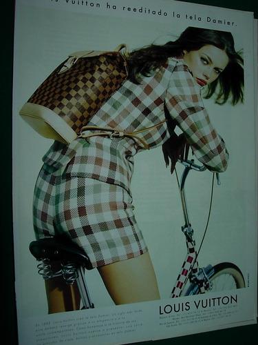 Imagen 1 de 1 de Olga Kurylenko Bolsos Louis Vuitton Bici Publicidad Clipping