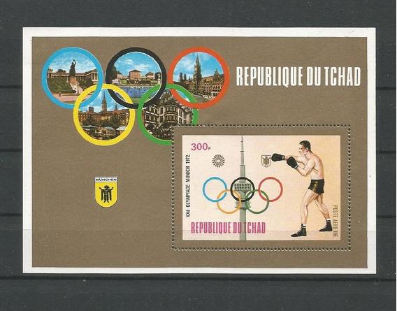 Dams Tchad Box Luta Olimpiada Munich 1972 Esportes