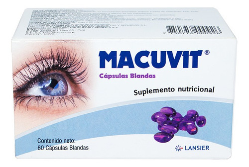 Vitaminas Oculares Macuvit