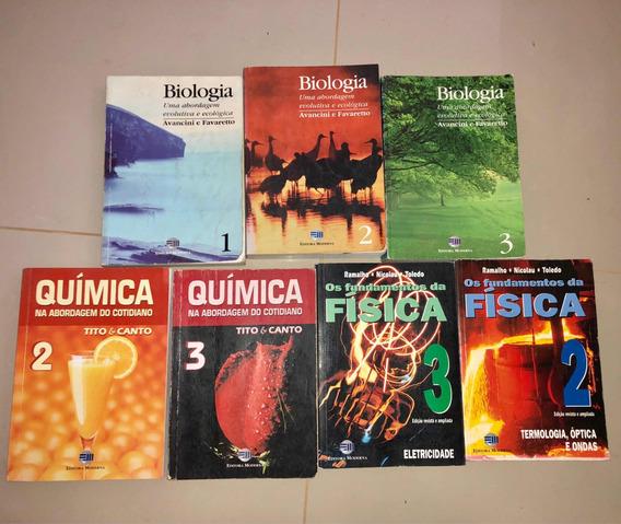 Coleção Biologia, Química, Física 7 Volumes