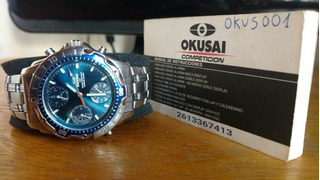 Reloj Okusai Pro Space Crono-alarma