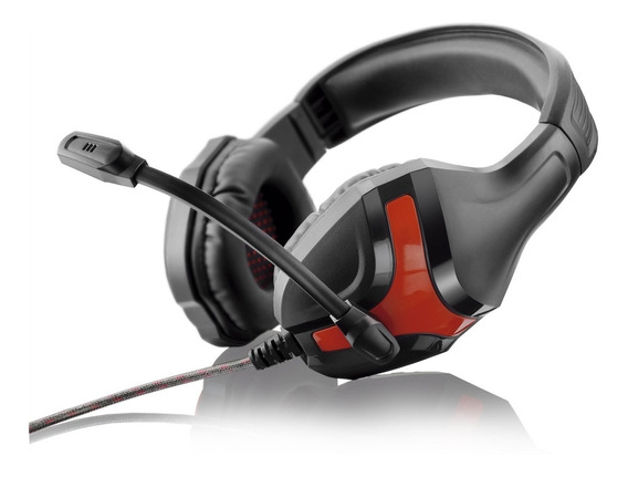 Fone De Ouvido Headset Gamer Warrior 20mw Ph101 Multilaser