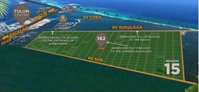 Terrenos En Tulum, Venta En La Veleta