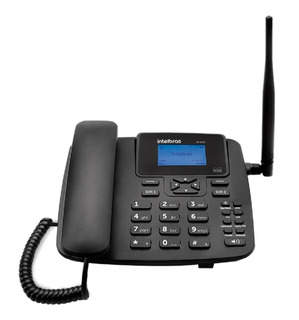 Telefone Fixo Rural Com Fio E Internet Cf 4202 Dual Chip
