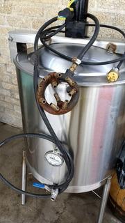 Macerador Olla Cocción Acero Inox. 304 Grado Alim 150 L