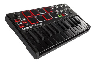 Teclado Controlador Usb Akai Mpk Mini Mkii Special Edition