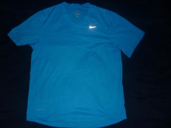 E Remera Nike Dri Fit Talle S Cuello En V Art 60691