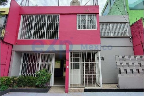 Imagen 1 de 14 de Casa En Venta, Colonia Periodista, Excelente Ubicación Como Local