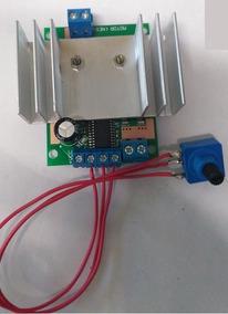 Controlador De Velocidade Para Motor 12v 20a (pwm) 0 A 100%