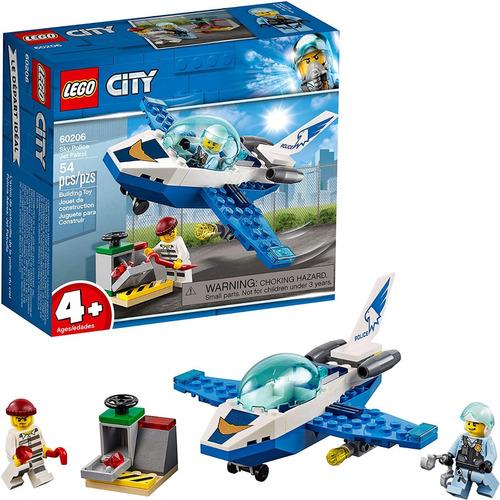 Lego City Sky Police Jet Patrol 60206 Original