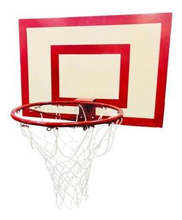 Tablero Basquet P/ Exterior Aro Macizo Reforzado Red Basket
