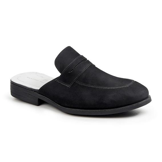 Sapato Masculino Sandro Moscoloni Mule Classique Preto