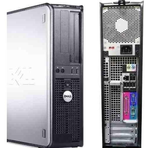 Cpu Dell Optiplex 320 Dt Intel Core 2 Duo 2gb Ddr2 Hd 80gb