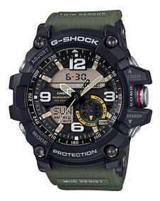 Relógio Casio G Shock Gg 1000-1a3 Verde Original Peso 94g