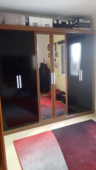 Guarda Roupa 6 Portas E 3 Gavetas Com Espelho