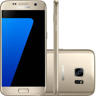 Samsung Galaxy S7 G930 32gb Single 4g 12mp Dourado Vitrine 3
