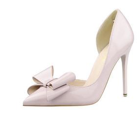 f5d87e8e0089 Sapato Scarpin Bico Fino Salto Alto Laço 7 Cores Lindas - Sapatos ...